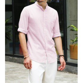 Рубашка лён Mix Limited