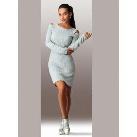 Платье стеганное NNJ