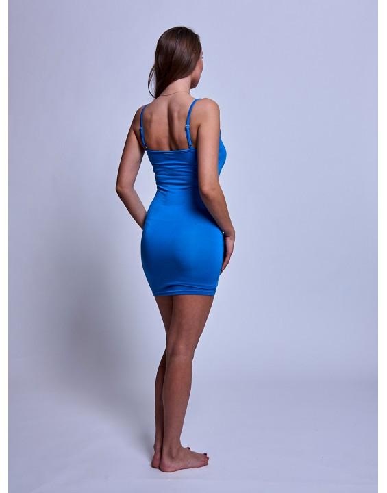 Коротком платье в оптяжном